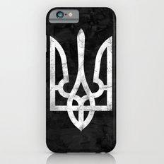 Ukraine Black Grunge Slim Case iPhone 6s