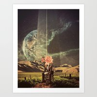 Art Prints featuring A New Life by TRASH RIOT