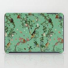 Monkey World Green iPad Case