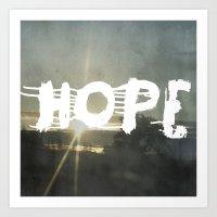 Hope Street Art Print