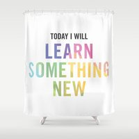 New Year's Resolution - … Shower Curtain