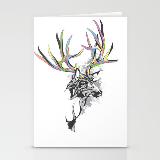 White-Tailed Deer Stationery Card