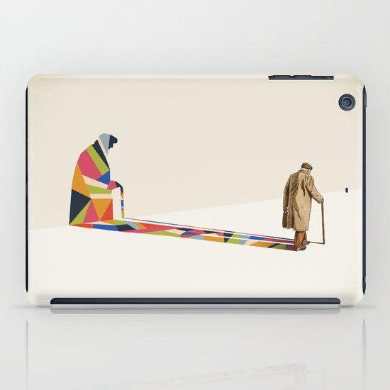 Walking Shadow, Old Man iPad Case