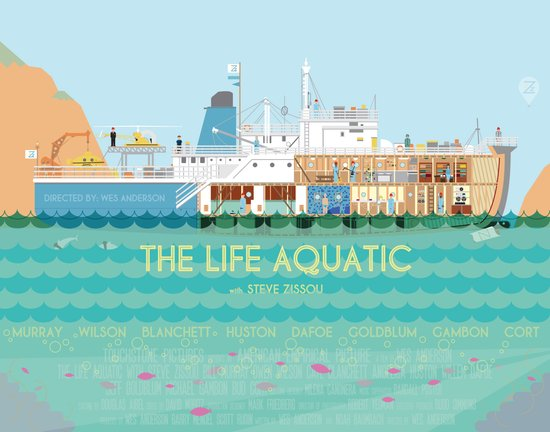 The Life Aquatic Art Print