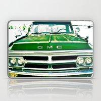 Green GMC Laptop & iPad Skin