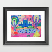 Oh, It's So Exciting! Framed Art Print