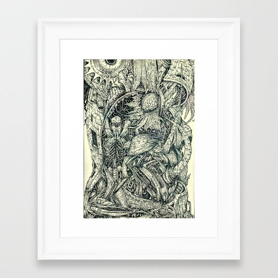Hantu Framed Art Print