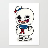 Stay Puft Canvas Print