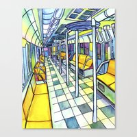 Love NYC's everything No. 5 Canvas Print