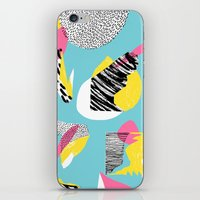 Modern living with lagoon view iPhone & iPod Skin