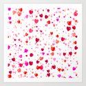 Heart 2014-0601 Art Print
