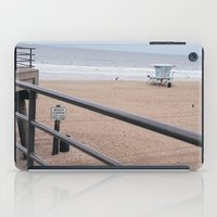 The Rails of Sand iPad Case