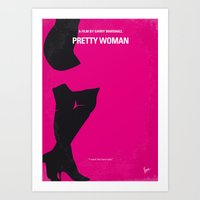No307 My Pretty Woman Mi… Art Print