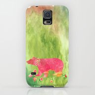 Baer  With Flowers I Galaxy S5 Slim Case