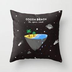 COCOA BEACH Throw Pillow