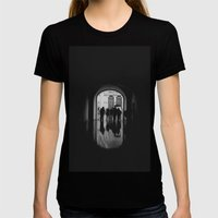 Mirror Womens Fitted Tee Black SMALL