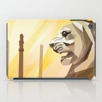 persepolis lion iPad Case