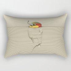 My Friend Must be a Bird Rectangular Pillow