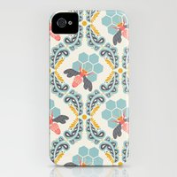 iPhone 4s & iPhone 4 Cases featuring bee sweet by bonnie christine