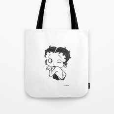Betty Boop Tote Bag