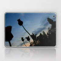Flowers on the Moon Laptop & iPad Skin