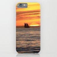 Sunset sail iPhone 6 Slim Case