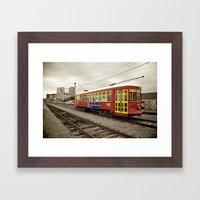 New Orleans Streetcar Framed Art Print