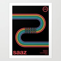 Saaz Noble Hop Art Print