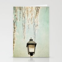 Old Town Blossoms Stationery Cards