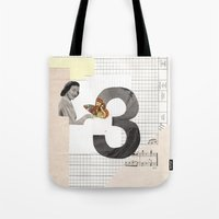 3 - Butterfly March Tote Bag