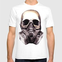 Apocalypse Mens Fitted Tee White SMALL
