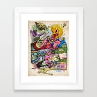 Rabbit Valley Framed Art Print