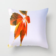 Wind Blown Throw Pillow