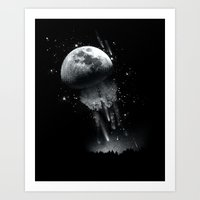 Jellymoon Art Print
