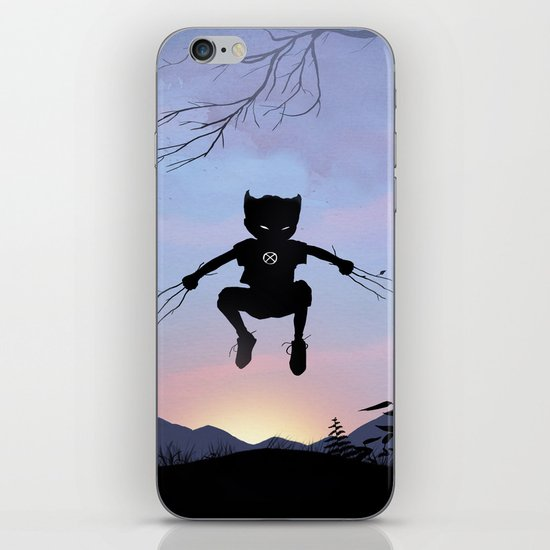 Wolverine Kid iPhone & iPod Skin