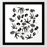 Plastic jungle pattern Art Print