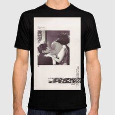 an occasional woman Mens Fitted Tee Black SMALL