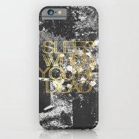 Sleep When You're Dead iPhone 6 Slim Case