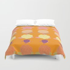 Bright and Bold Floral Dance Duvet Cover