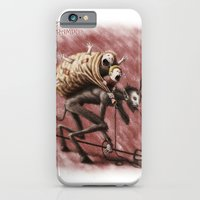 iPhone & iPod Case featuring Krampus (with text) by Divine Mania