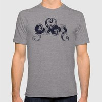 Yin & Yang Mens Fitted Tee Athletic Grey SMALL