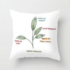 Sage Advice Throw Pillow