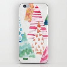 Funny Trees iPhone & iPod Skin