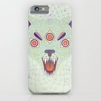 iPhone Cases featuring Cosmic Cat by LordofMasks