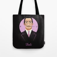 Clockwise Dali Tote Bag