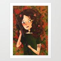Kate Austen Art Print