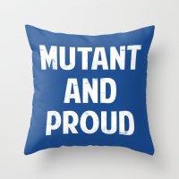 X-Men - Mutant and proud Throw Pillow