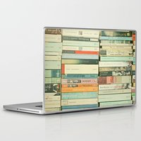 photography Laptop & iPad Skins featuring Bookworm by Cassia Beck