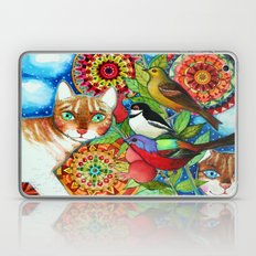 the mandala garden Laptop & iPad Skin
