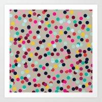 Confetti #2 Art Print